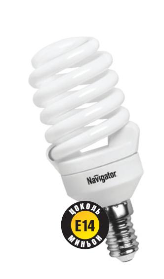 Лампа э/сб Navigator NСL-SF10-20-827-E14 теплый (20Вт)