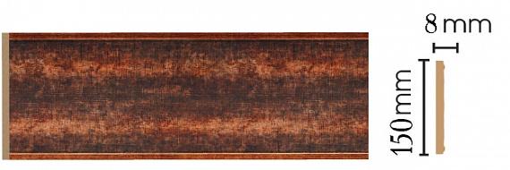 Декоративная панель Decomaster B15-767 (150х9х2400мм)