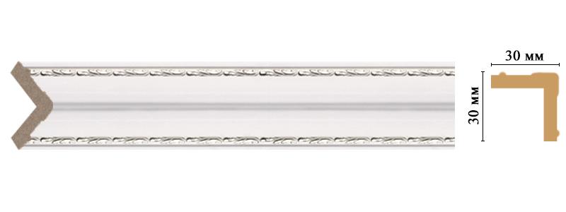 Цветной угол Decomaster 116-60 (размер 30х30х2400)