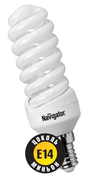 Лампа э/сб Navigator NСL-SF10-09-840-E14 холодный (9Вт)