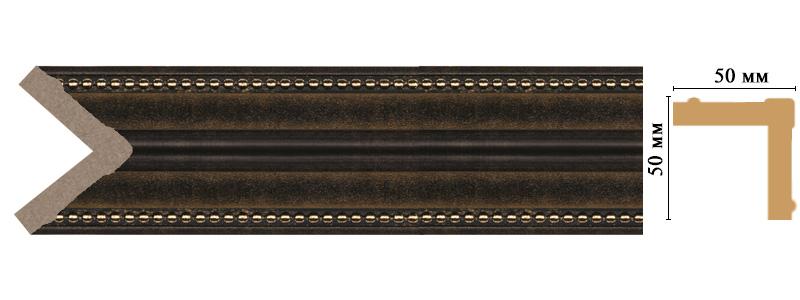 Цветной угол Decomaster 142-56 (размер 50х50х2400)