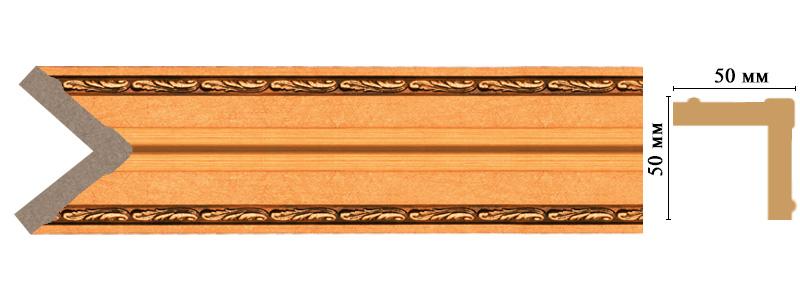 Цветной угол Decomaster 142-1223 (размер 50х50х2400)