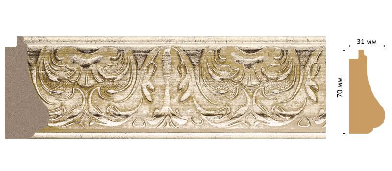 Багет Decomaster 566-1224 (размер 70х31х2900)