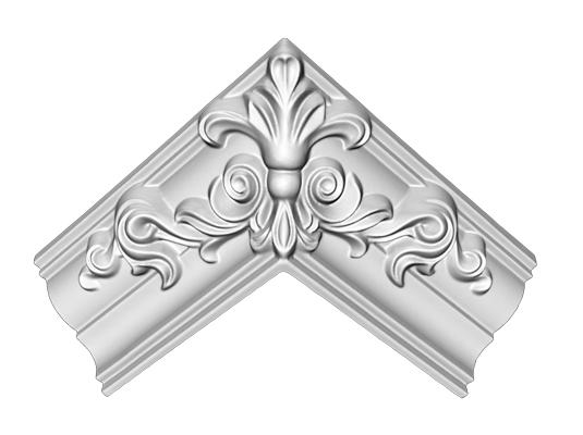 Угол декоративный Decomaster DP 350 E (размер 57х165х165)