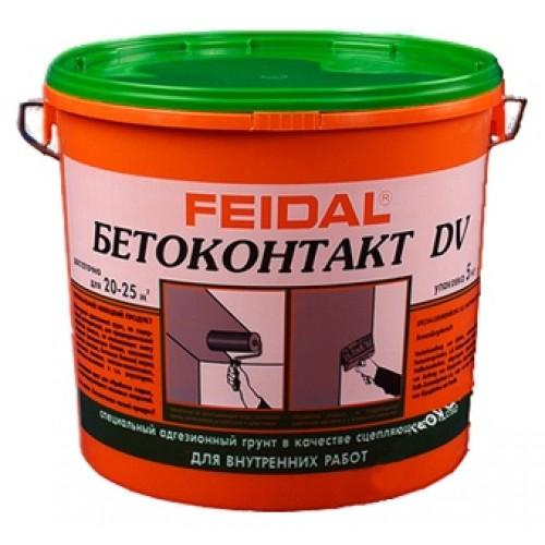 Бетоконтакт Файдаль / Feidal DV 5кг (для внутренних работ)