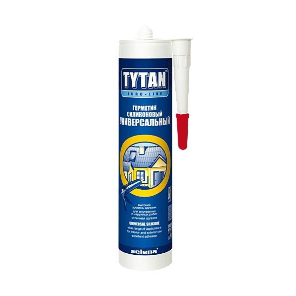 Герметик силиконовый Tytan Professional универсальный бесцветнный 290 мл
