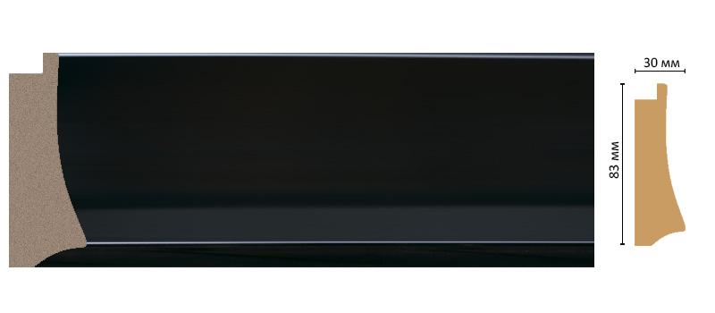 Decomaster Багет Decomaster 552-195 (размер 83х30х2900) decomaster багет decomaster 808 552 размер 61х26х2900мм