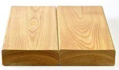 Террасная доска лиственница(гладкая) палуба, разм 0.145х3м, толщ.34мм (1шт) сорт А