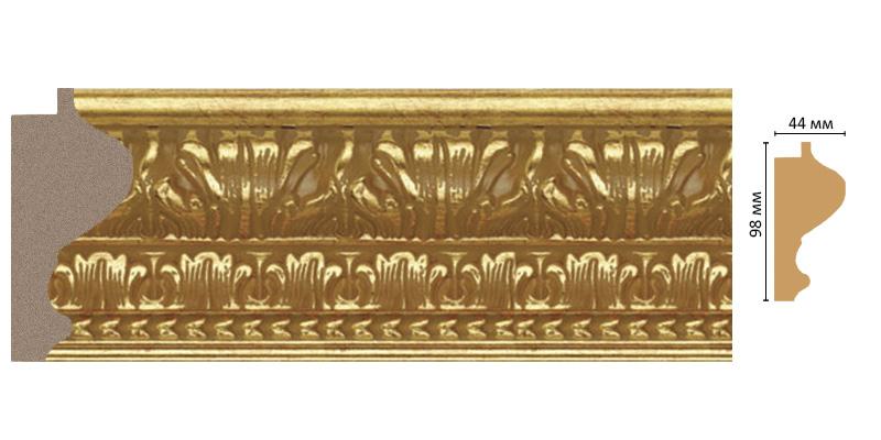 Багет Decomaster 916-461 (размер 98х44х2900)