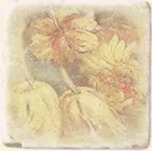 Плитка Cir Marble Age Inserto Ottocento Botticino S/3 (4 Цветка) 1511014-240-02240-2