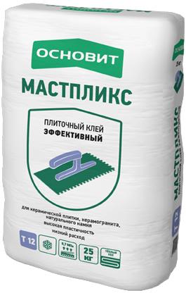 Клей плиточный Основит Мастпликс АС12 (Т-12) усиленный, 25кг