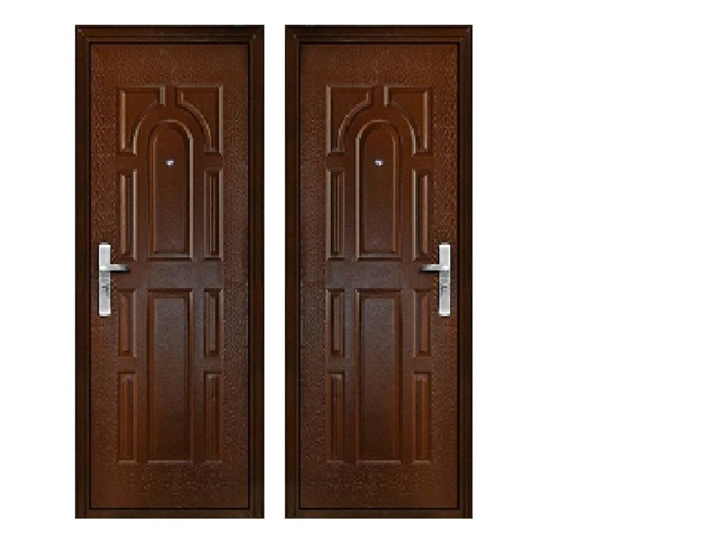 Дверь стальная 2050х960х50, модель К-02