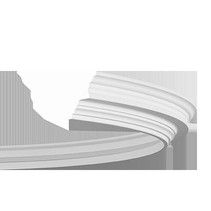 1.50.286 флекс Европласт потолочный карниз, гибкий