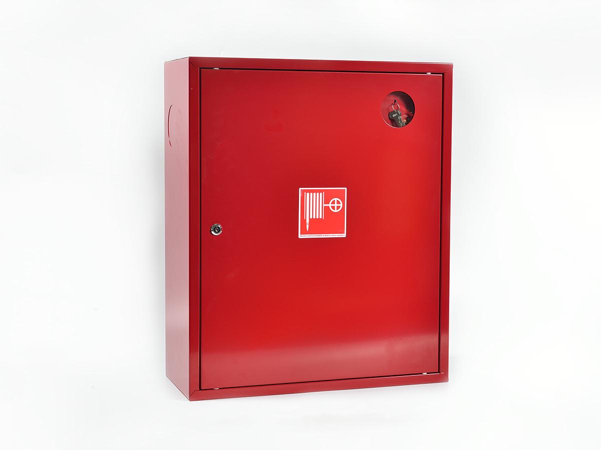 Шкаф пожарный ШПК-310НЗК навесной закрытый красный