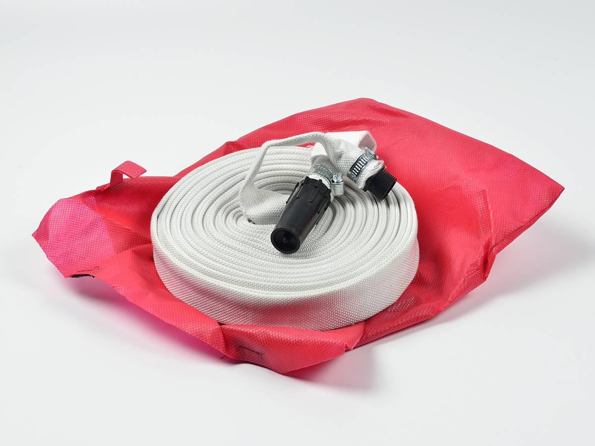 Рукав пожарный квартирный Универсал 19 мм, со штуцером и стволом, в чехле
