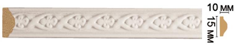 Цветной молдинг Decomaster 130A-115 (15х10х2400)