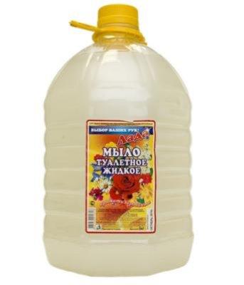 Жидкое мыло, канистра 5кг