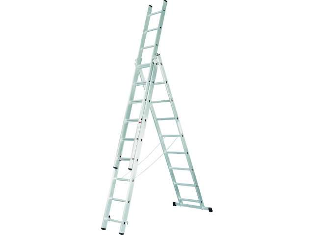 Лестница 3-х секционная 3х11 (3.2м/5.4м/7.7м)