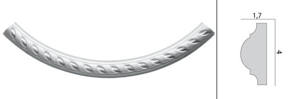 Угол Decomaster DT 8050-60R  1/4 часть круга