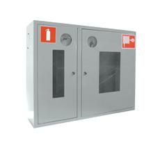 Шкаф пожарный ШПК-315НОБ  навесной открытый белый
