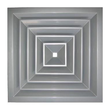 Потолочная вентиляционная решетка, разм.450х450мм