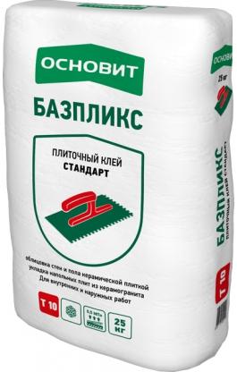 Клей плиточный Основит Базпликс АС10 (Т-10), 25кг