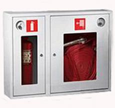 Шкаф пожарный Пульс ШПК-315НОБ навесной открытый белый