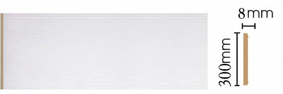 Декоративная панель Decomaster B30-118 (298х9х2400мм)