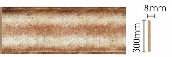 Декоративная панель Decomaster B30-127 (298х9х2400мм)