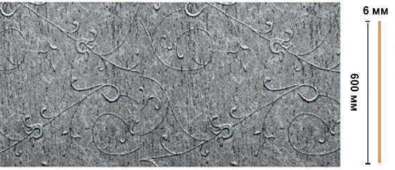 Декоративная панель Decomaster N60-29 (595х6х2400мм)