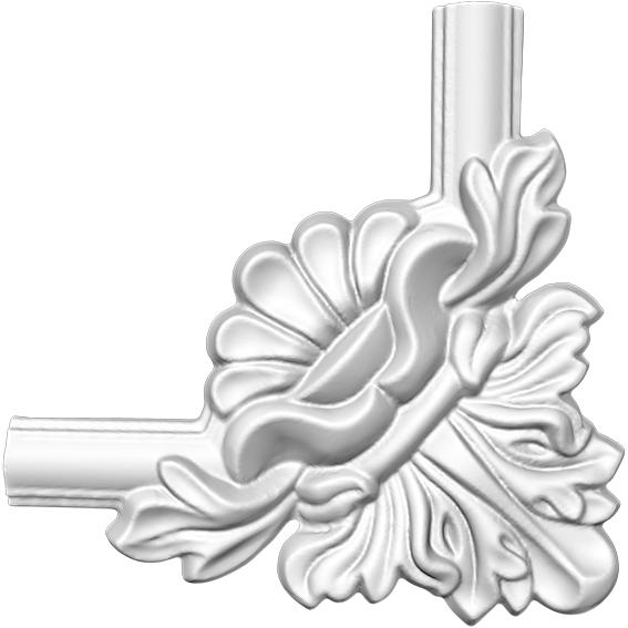Угол декоративный Decomaster DP 8032 D  (к молдингу DT 8032)
