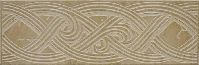 Бордюр Gracia Ceramica Этна бежевый 330х108х8