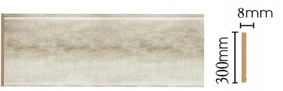 Декоративная  панель Decomaster B30-937 (298х9х2400мм)