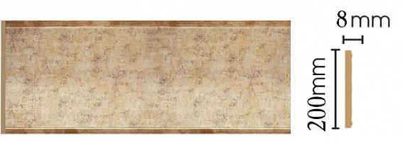 Декоративная панель Decomaster B20-553 (200х9х2400мм)