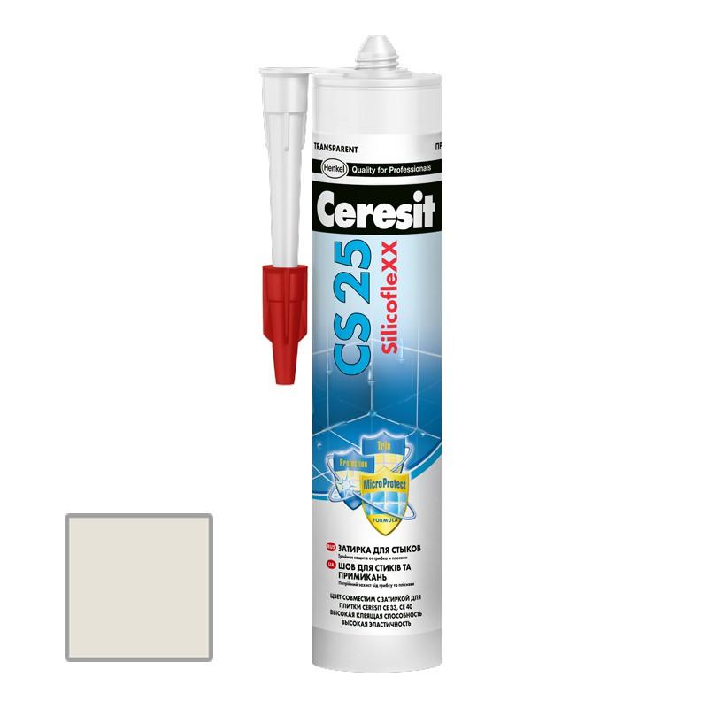Затирка силиконовая Ceresit CS 25 Жасмин 0,28 л