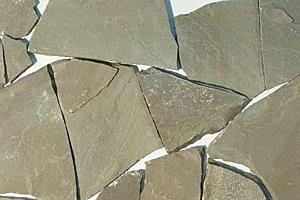 Дикий камень песчаник серо-зеленый толщ3см (1м2)