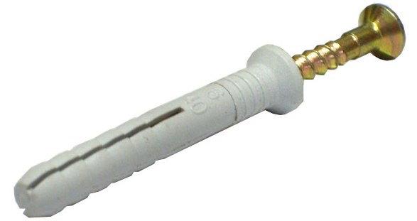 Дюбель-гвоздь D 8мм, L 140 мм (коробка 50 шт)