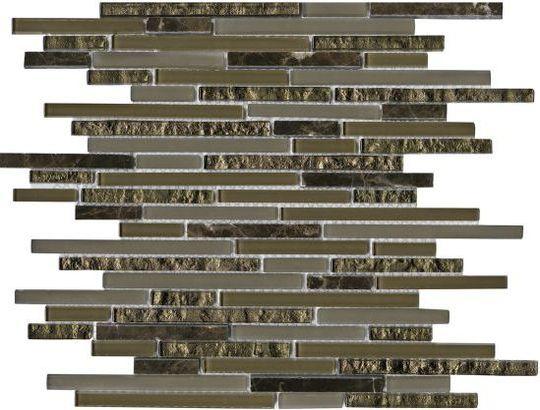 Плитка L Antic Colonial Eternity Mini Strip Emperador L100097104