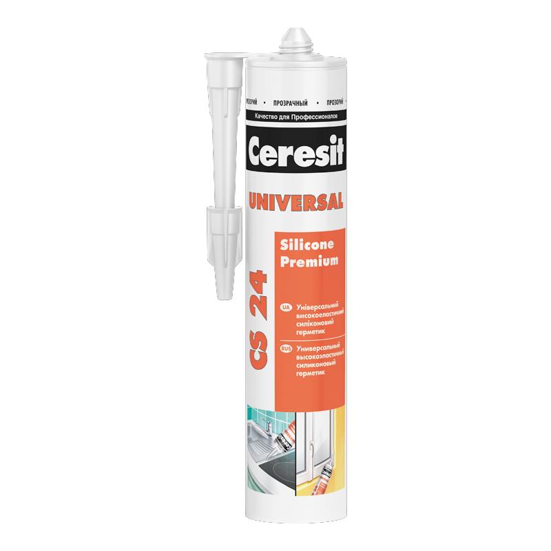Герметик силиконовый Ceresit CS 24 универсальный прозрачный