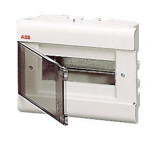 Бокс внутренний ABB 8 модулей серый 12058 (матовая дверка)