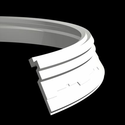 1.50.267 флекс Европласт потолочный карниз, гибкий