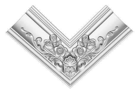 Угол декоративный Decomaster DP 353 R  (к плинтусу DP 353)