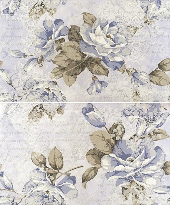 Пано Gracia Ceramica Melba blue 50х60