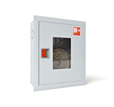 Шкаф пожарный ШПК-310ВОБ встраиваемый открытый белый