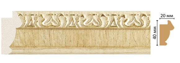 Багет Decomaster 807-5 (размер 40х20х2900)
