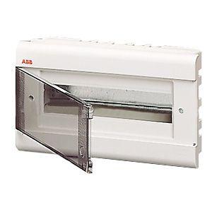 Бокс внутренний ABB 12 модулей серый 12062 (матовая дверка)