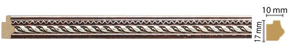 Молдинг Decomaster 149-956 (размер 17х10х2400)