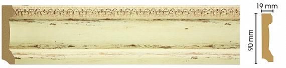 Плинтус напольный Decomaster 166-1028 (размер 90х19х2400)