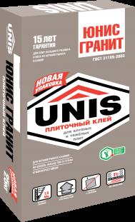 Юнис Гранит | UNIS Гранит - плиточный клей, 25кг