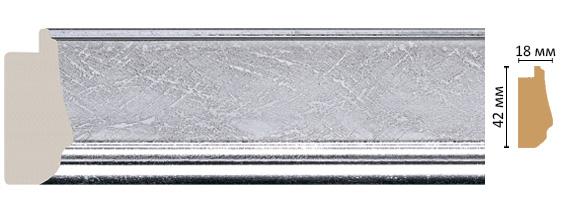 Багет Decomaster 477-1244 (размер 42х18х2900)